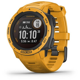 Garmin Instinct Solar GPS Smartwatch, jaune